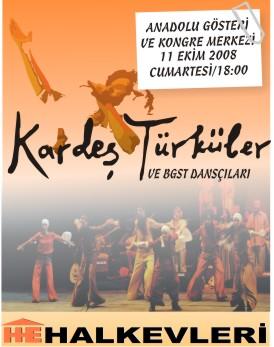 Halkevleri'nden Kardeş Türküler konseri