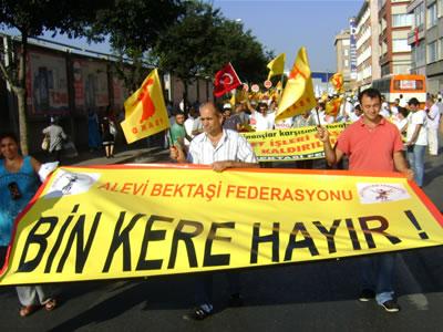 Aleviler : 12 Eylül'e de AKP Anayasasına da Bin Kere Hayır