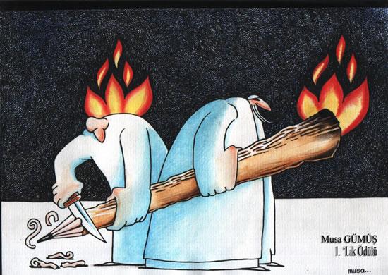 Hacı Bektaş Veli Karikatür Yarışması Sonuçlandı
