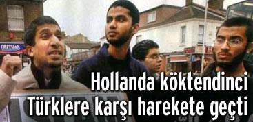 Hollanda Türk gençlere karşı tedbir arıyor