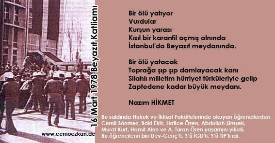 16 Mart Beyazıt Katliamı