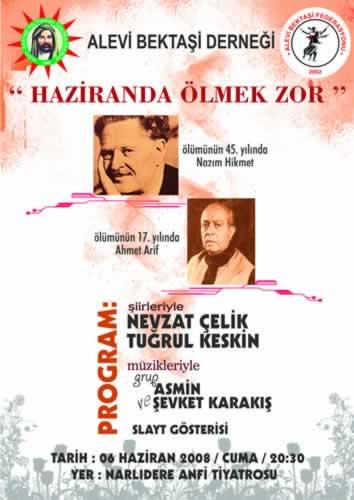İzmir'de Anma : Haziranda Ölmek Zor