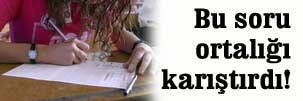 Lise öğrencilerine uygulanan ilginç teste, Valilik soruşturması