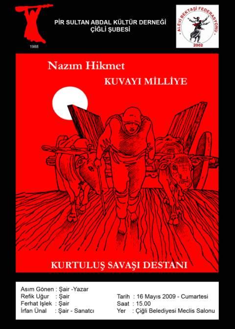 """""""Kuvayı Milliye"""" Çiğli'de Sahnelenecek"""