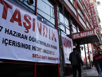 AKP'nin Madımak Şovuna Tepki