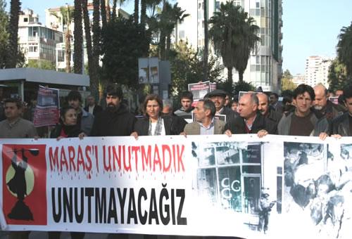 Maraş Katliamı'nın 30 yıldönümü için yapılacak mitinge katılım çağrısı