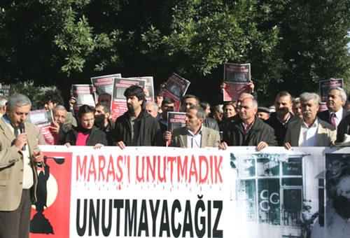 ''Maraşlar Yaşanmasın'' Diyenler 21 Aralık'ta Adana'da