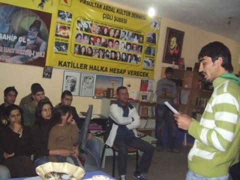 Çiğli'de Gazi Katliamını Anma Etkinliği