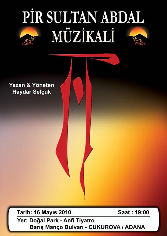 Pir Sultan Abdal Müzikali Adana'da