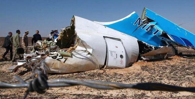 Sivil Rus yolcu uçağını İslamcı Faşistler düşürmüş