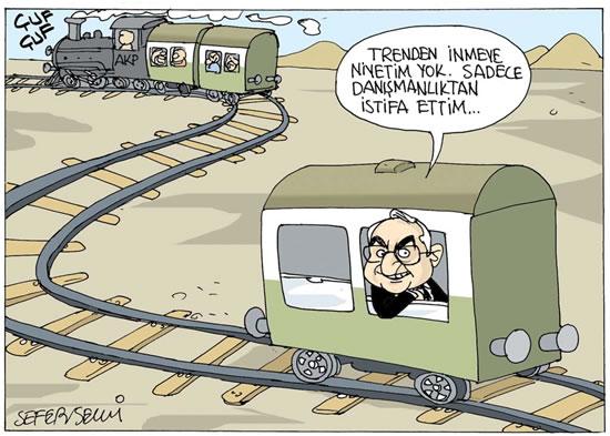Çamuroğlu AKP Treninden inmiyor