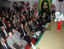Şanlıurfa'da Alevi Kültür Dernekleri Aşure Şenliği Düzenledi