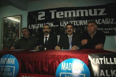 AKP'nin Madımak hamlesine tepki