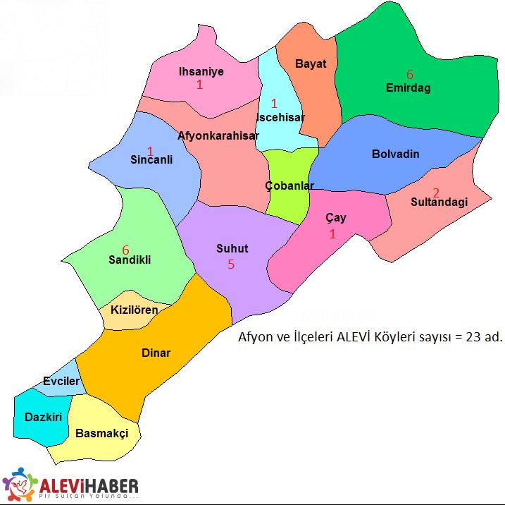 Afyon Karahisar Alevi Köyleri