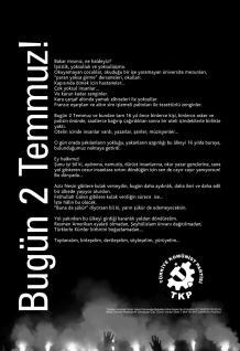 TKP'den 2 Temmuz bildirisi