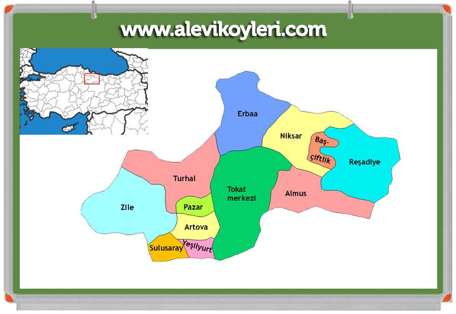 Tokat Sulusaray Alevi Köyleri