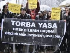 AKP'nin 'torba'sına emekçi girmeyecek