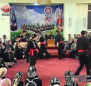 TRT'den bir ilk, canlı yayında cem
