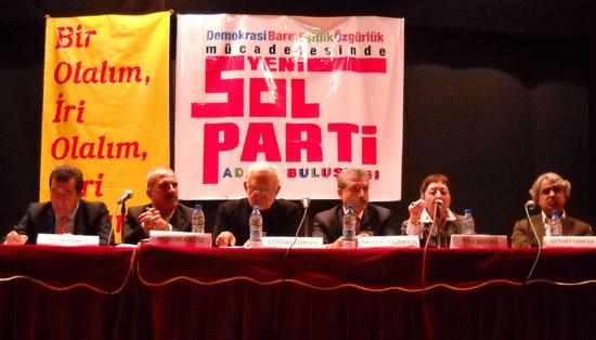 Solda Yeni Parti Mart'ta
