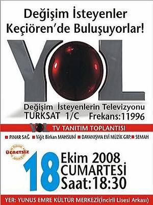 Değişim isteyenler 18 Ekim'de Ankara KEÇİÖREN'de buluşuyor!