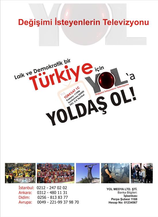 YOL TV  45. Hafta Programları (3-9 Kasım 2008)
