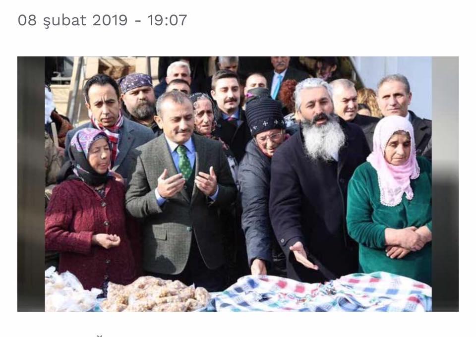 VALİ'Yİ HIZIR'A BENZETEN '' DEDEYE'' TEPKİ BÜYÜYOR