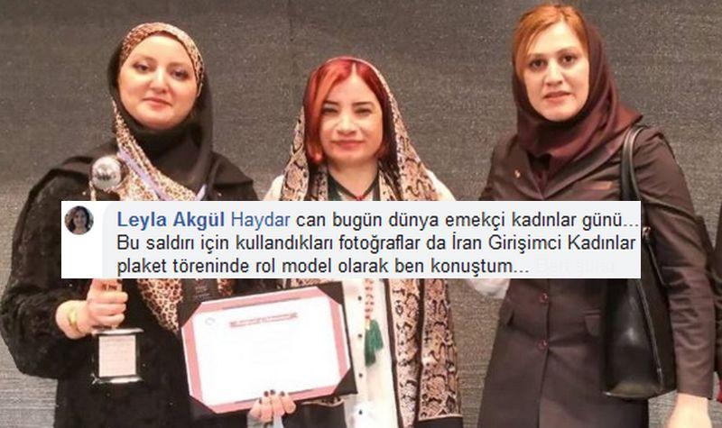 AleviHaber.com: İran 'rol-modeli' Leyla Akgül'e cevap ve bazı sorular