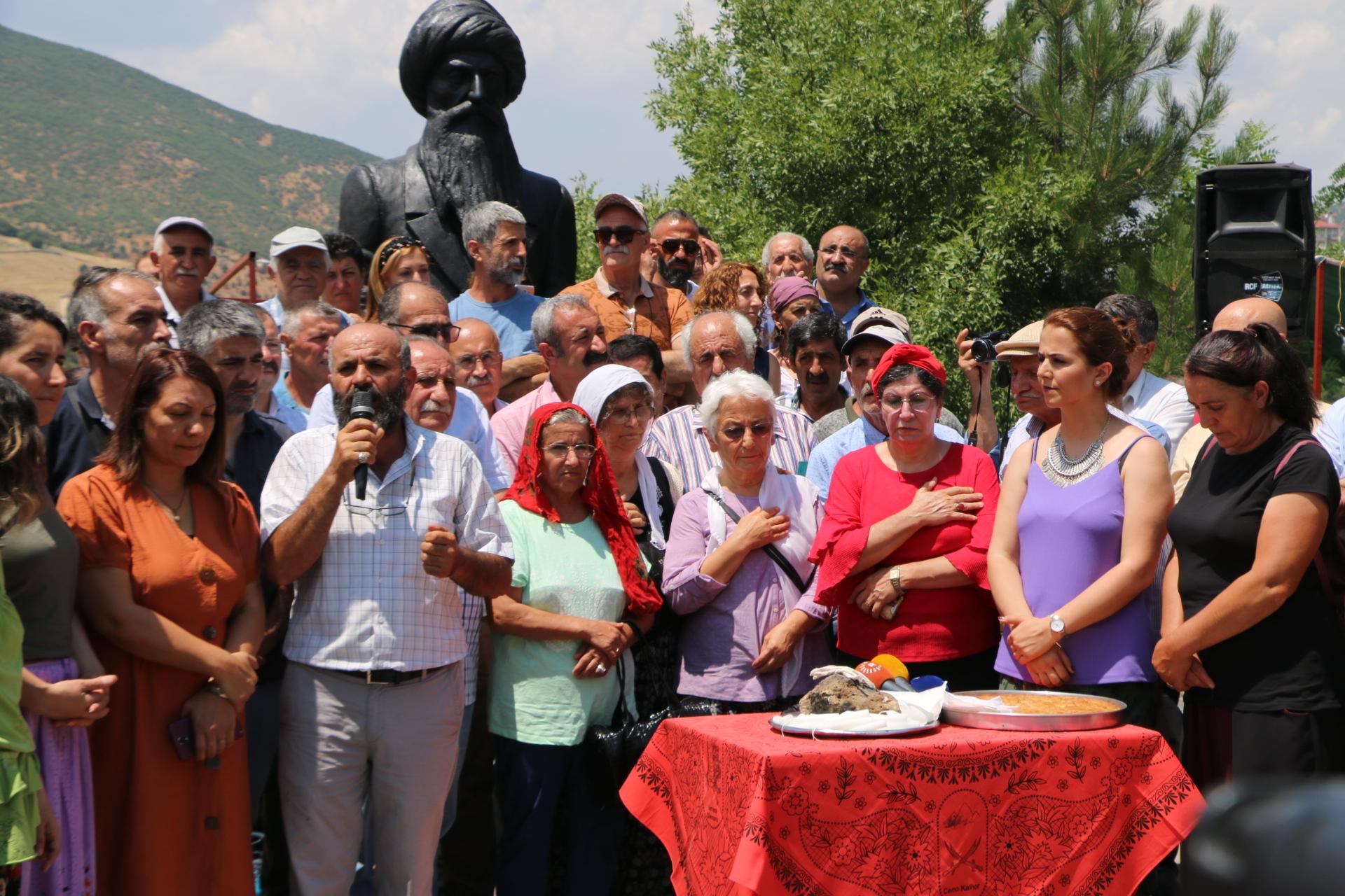 19. Munzur Kültür ve Doğa Festivali, Ana'nın gülbenk okumasından sonra başlatıldı