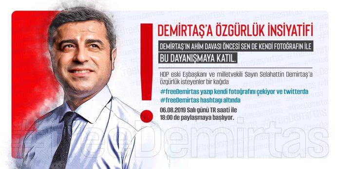 Demirtaş'a Özgürlük kampanyası başlatılıyor