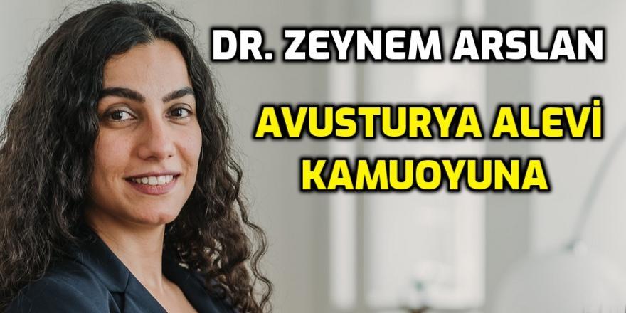 Dr. Zeynem Arslan'dan 'Avusturya Alevi Kamuoyuna' açıklama