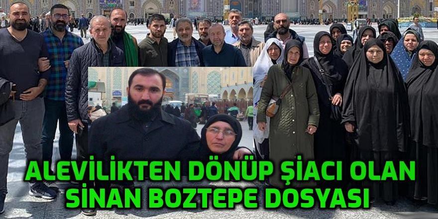 Cem Vakfı yetiştirmesi çakma Dede Sinan Boztepe sözde Alevi özde Şiacı kurumları deşifre etti