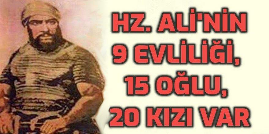 Hz. Ali kimdi, nasıl yaşadı, kaç kez evlendi, kaç çocuğu vardı?