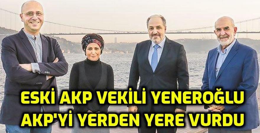 AKP'den istifa eden Mustafa Yeneroğlu: ''Dinsel-milliyetçi bir şovenizmle, korku dağıtarak sürdürürüz zannediliyorlar!''