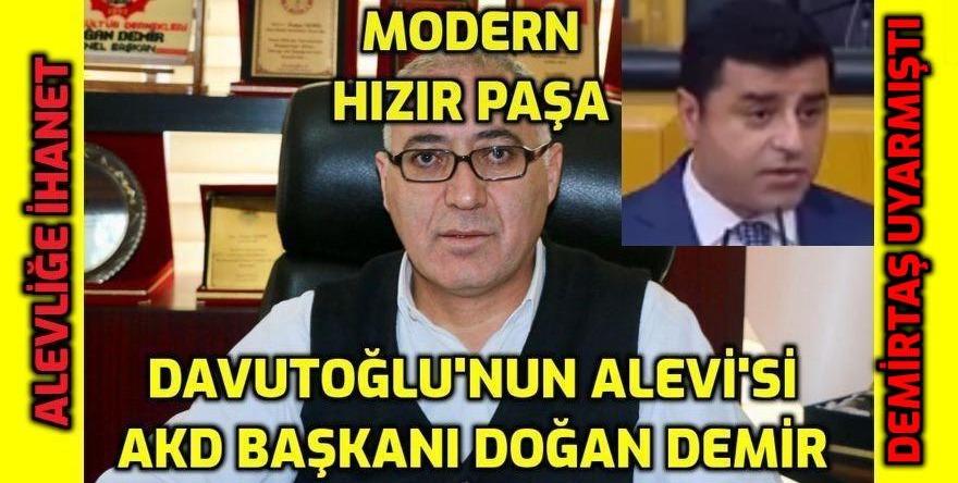 ALEVİLİĞE VE ALEVİLERE BÜYÜK İHANET - Davutoğlu'nun partisinin kurucularından biri Alevi Kurum Başkanı - VİDEO HABER