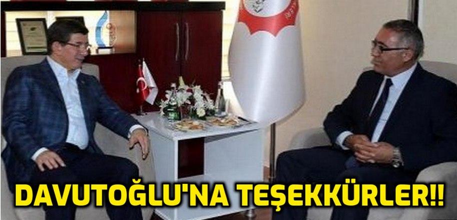 """""""Ahmet Davutoğlu'na TEŞEKKÜRLER!!"""""""