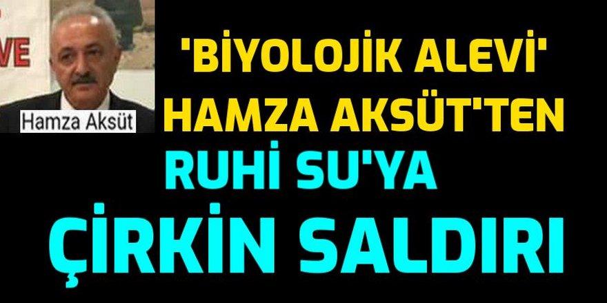 Sosyal medya tetikçisi Hamza Aksüt bu kez büyük usta Ruhi Su'ya saldırdı