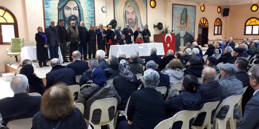 Karacaahmet Sultan Dergahı Başkanı Muharrem Ercan oldu
