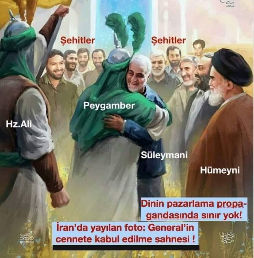 Cennet Resimleri: İranlılar ABD sayesinde cennetin ilk resimlerini gördüler