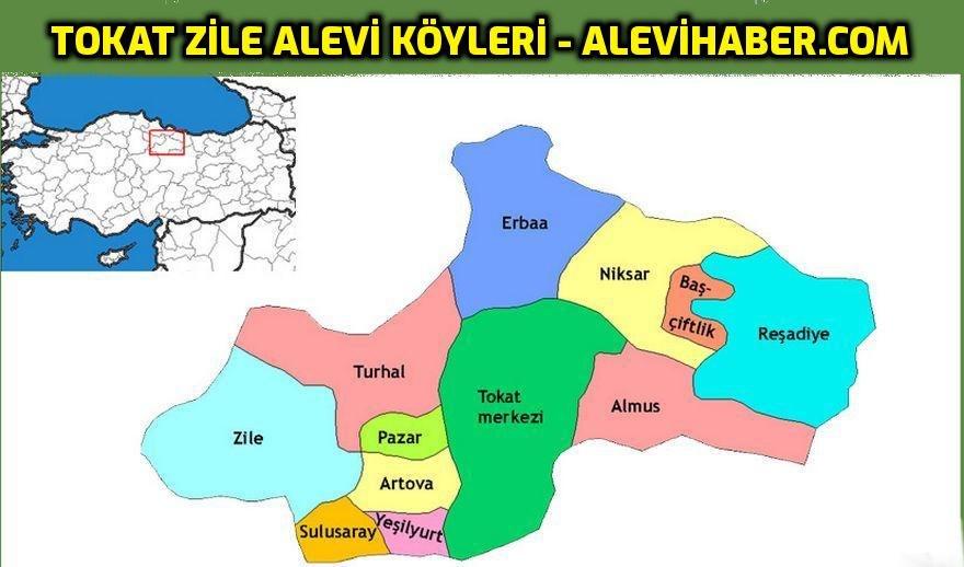 Tokat Zile Alevi Köyleri