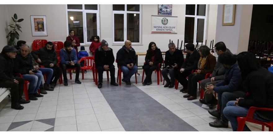 HDP heyetinden cemevlerine ziyaret