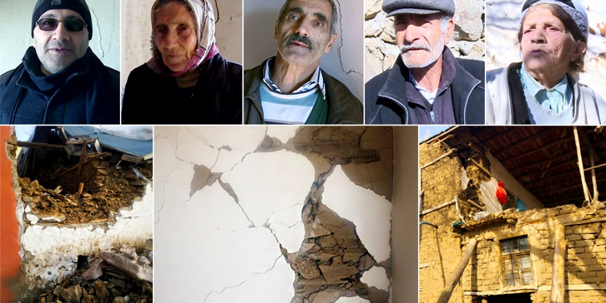 Hüsükuşağı Köyü sakinleri: Doğal afette bile ayrımcılık oluyor