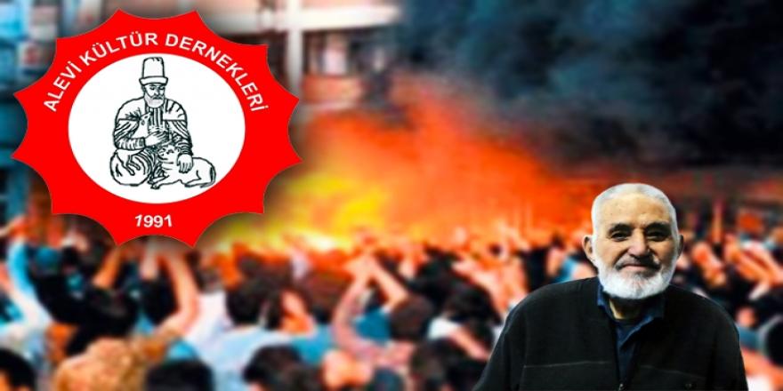 AKD'den tepki: 27 yıldır sönmeyen Sivas ateşi daha da büyümüştür