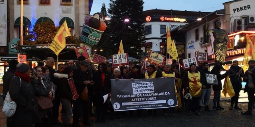 Antalya'da tepki: Sivas katliamcısının affıyla 27 yıllık adaletsizliğe devam edildi