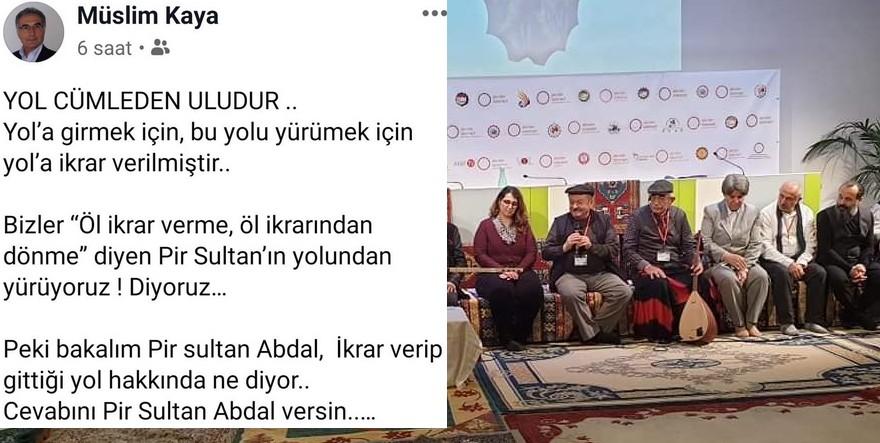 Müslim Kaya'dan Avusturya Alevi Konferansına karşı açıklama