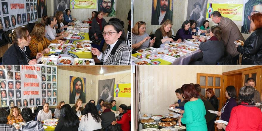 Ankara Demokratik Alevi Derneği'nden 8 Mart dayanışma kahvaltısı