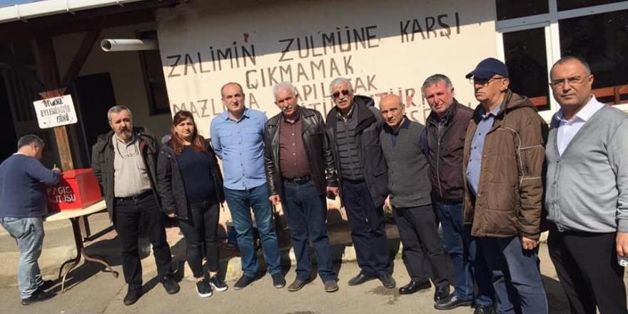Alevilerden polisin bastığı Armutlu Cemevine ziyaret: Saygısızlığı kabullenemeyiz