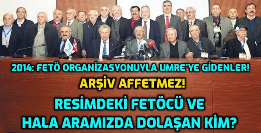Sene: 2014 - Cumhuriyet tarihinde bir ilk: Sözde Alevi Dedeleri Umre yolcusu