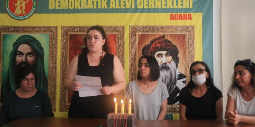 Alevi kadınlar Adana'da 33 canı andı: Ateşte semaha duranları unutma, unutturma!