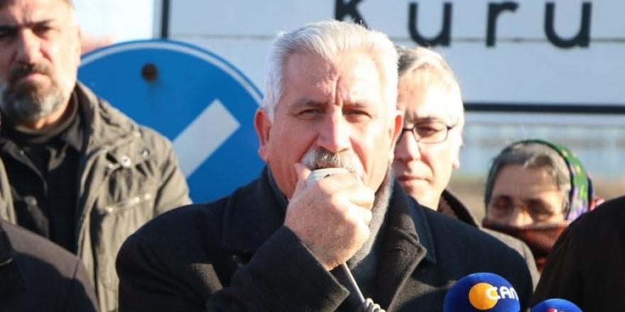 HBVAKV Genel Sekreteri Hüseyin Gülseven Hakk'a yürüdü