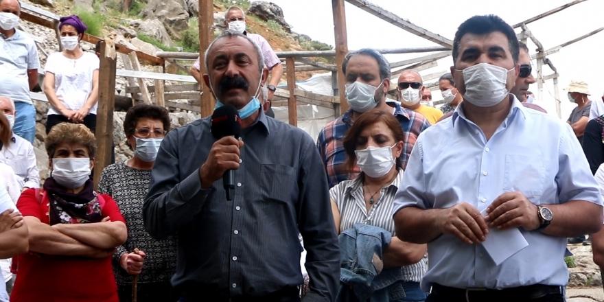 Munzur Gözeleri'ndeki çalışmayı protesto edenlere soruşturma